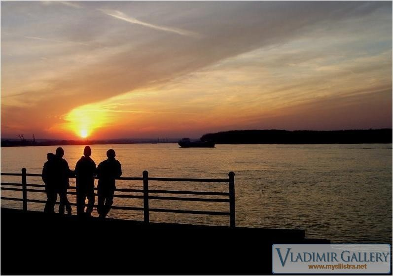Залез край Дунава